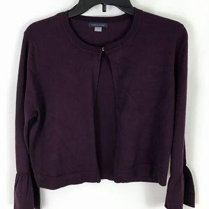 TOMMY HILFIGER Purple cardigan New w/tags (#34)